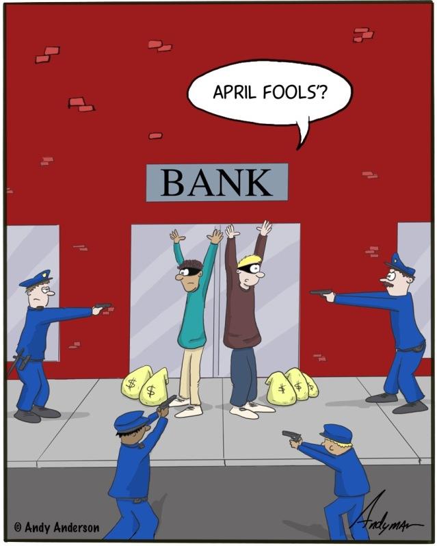 April Fools Robbery