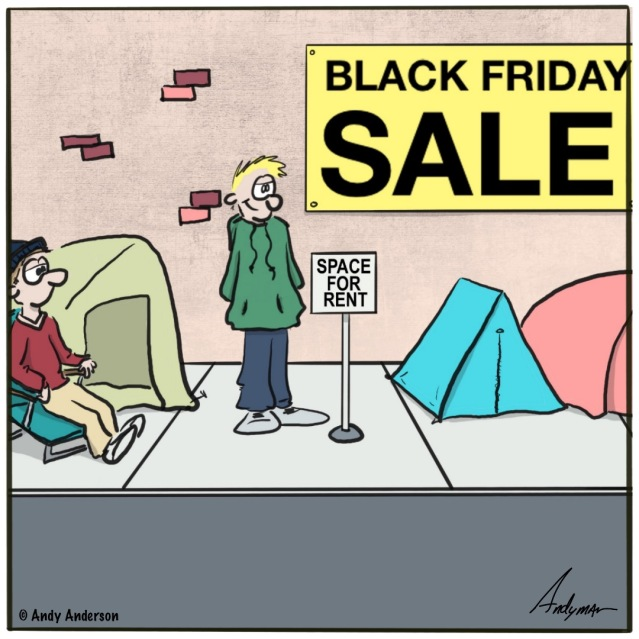Black Friday space for rent
