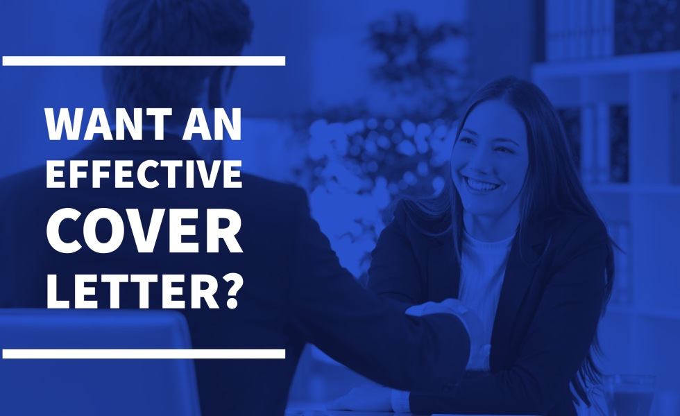 what you need for an effective cover letter